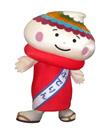 筆の都 熊野町観光大使 ふでりん