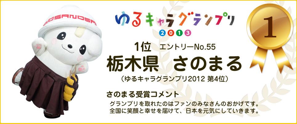 1位:栃木県 さのまる